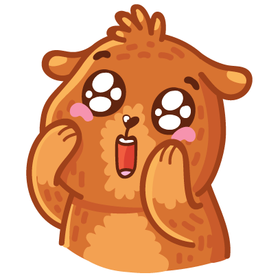Bear stickers for iMessage messages sticker-1