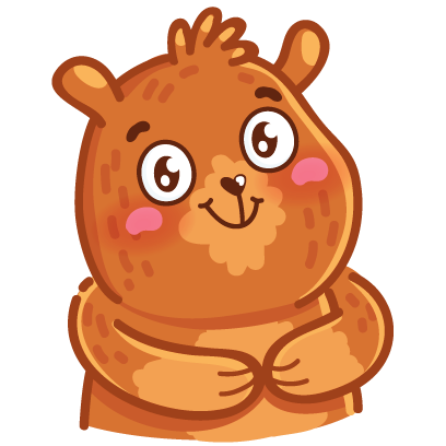 Bear stickers for iMessage messages sticker-0
