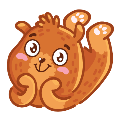 Bear stickers for iMessage messages sticker-9
