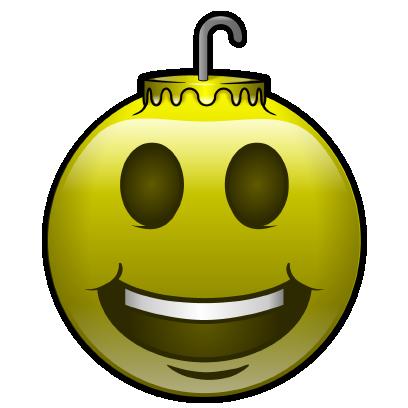 137 Christmas Emoji Ornament Stickers messages sticker-0