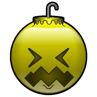 137 Christmas Emoji Ornament Stickers messages sticker-9