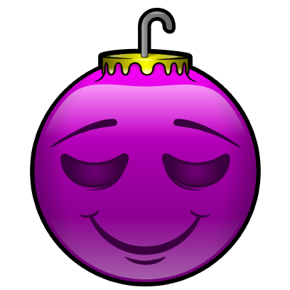 137 Christmas Emoji Ornament Stickers messages sticker-3