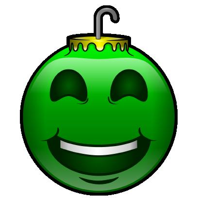 137 Christmas Emoji Ornament Stickers messages sticker-1
