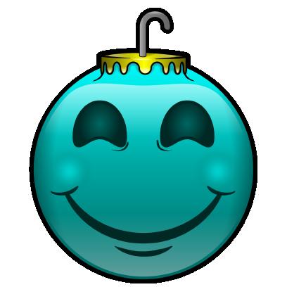 137 Christmas Emoji Ornament Stickers messages sticker-2