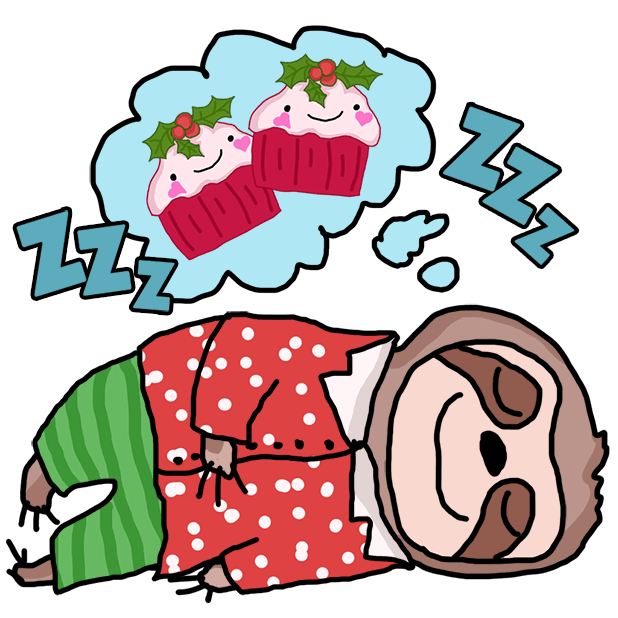 Christmas Holiday Sloths messages sticker-3