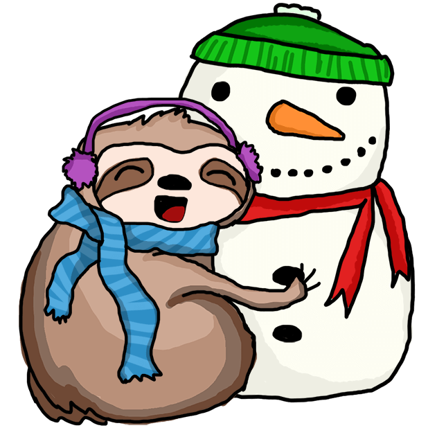 Christmas Holiday Sloths messages sticker-10
