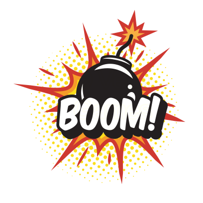 Comic Text Stickers for iMessage messages sticker-11