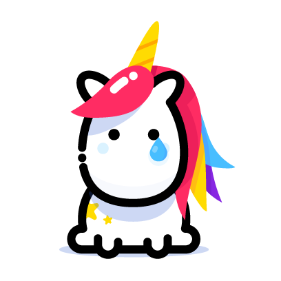 Lily Unicorn Stickers messages sticker-1