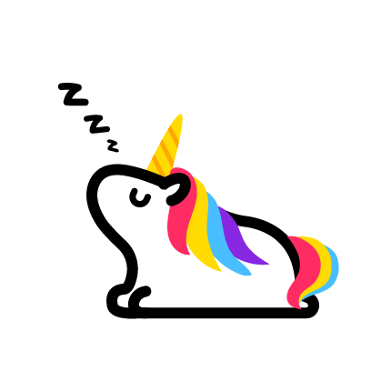 Lily Unicorn Stickers messages sticker-11