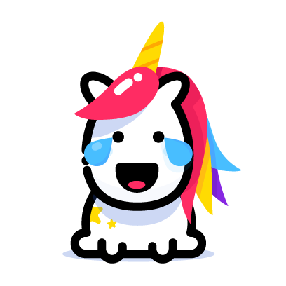 Lily Unicorn Stickers messages sticker-5