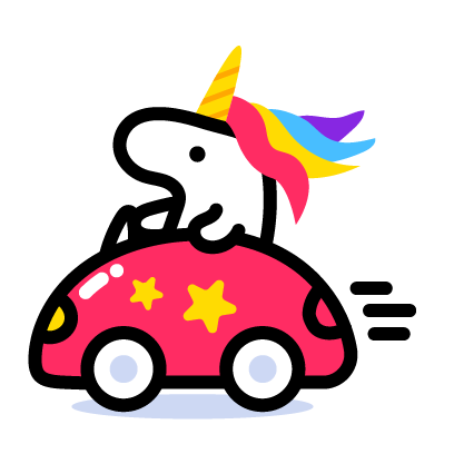 Lily Unicorn Stickers messages sticker-3