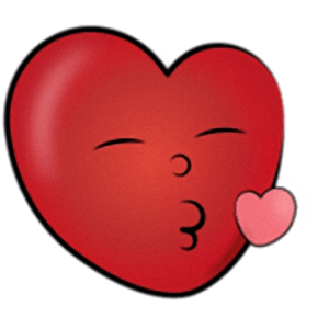 Lovely Heart - Cute stickers for iMessage messages sticker-8