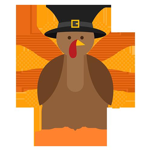 Turkey - Thanksgiving stickers messages sticker-7