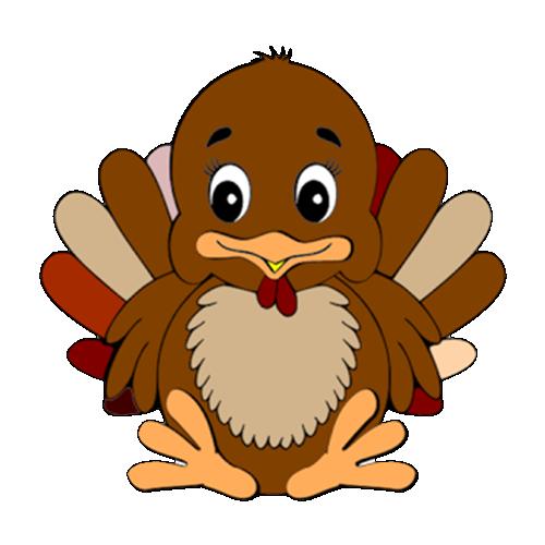 Turkey - Thanksgiving stickers messages sticker-5