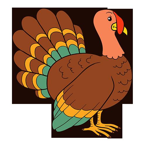 Turkey - Thanksgiving stickers messages sticker-4