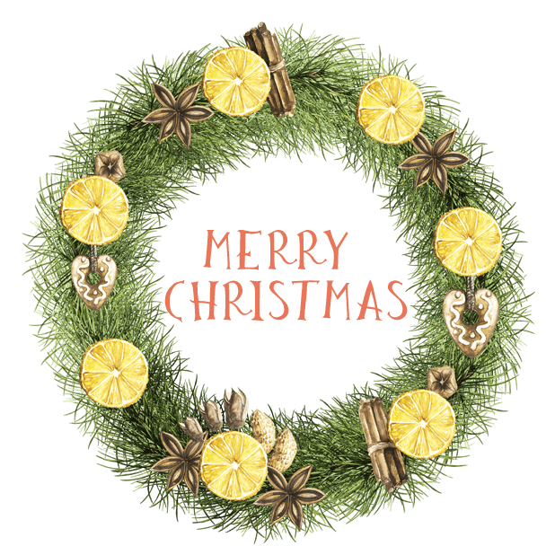 Christmas Watercolor Stickers messages sticker-1