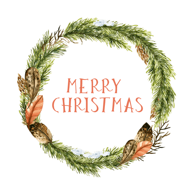 Christmas Watercolor Stickers messages sticker-0