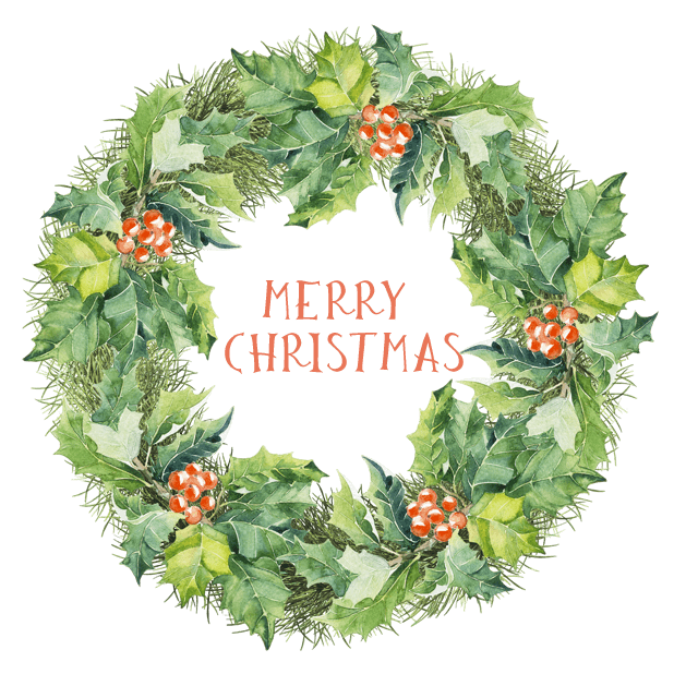 Christmas Watercolor Stickers messages sticker-4