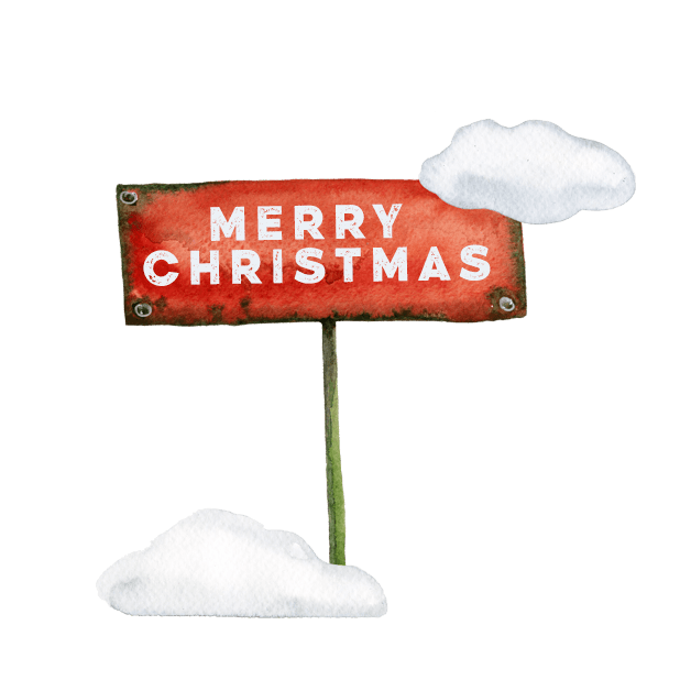 Christmas Watercolor Stickers messages sticker-6
