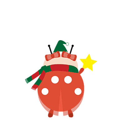 bichitto's christmas collection messages sticker-9