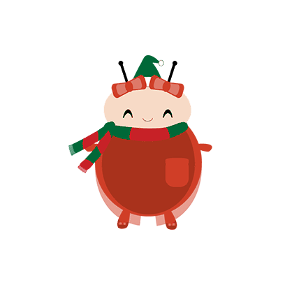 bichitto's christmas collection messages sticker-8