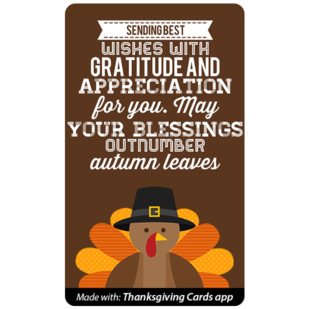 Thanksgiving Cards - Best wishes for Thanksgiving messages sticker-4