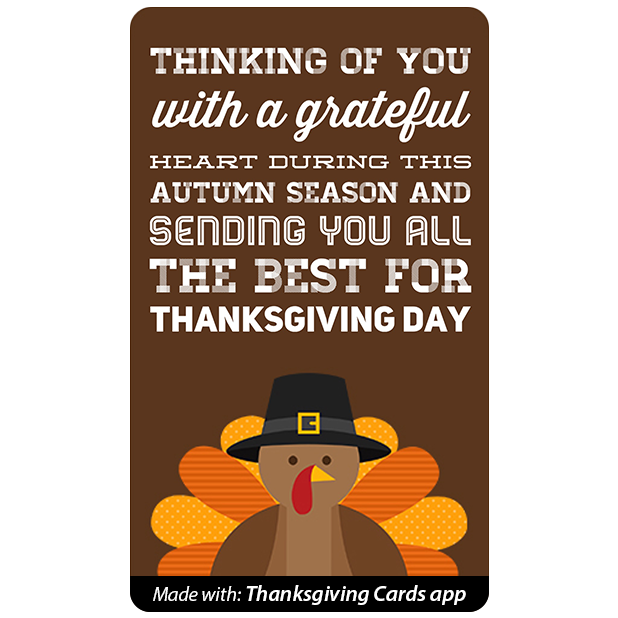 Thanksgiving Cards - Best wishes for Thanksgiving messages sticker-6