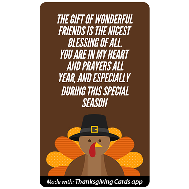Thanksgiving Cards - Best wishes for Thanksgiving messages sticker-11