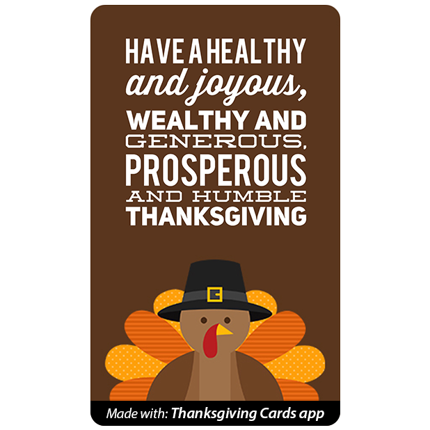 Thanksgiving Cards - Best wishes for Thanksgiving messages sticker-1