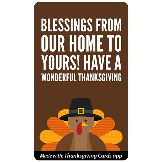 Thanksgiving Cards - Best wishes for Thanksgiving messages sticker-5