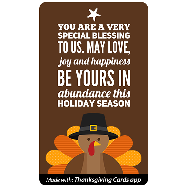 Thanksgiving Cards - Best wishes for Thanksgiving messages sticker-7