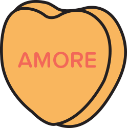 Candy Hearts Stickers messages sticker-0