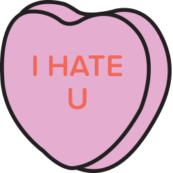 Candy Hearts Stickers messages sticker-5