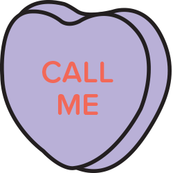 Candy Hearts Stickers messages sticker-2
