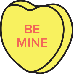 Candy Hearts Stickers messages sticker-1