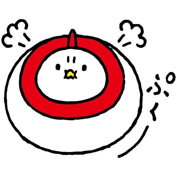 もい鳥 ~はじめてのステッカー~ messages sticker-9