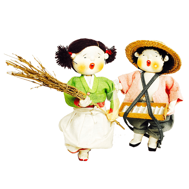 Korean Culture Dolls messages sticker-3