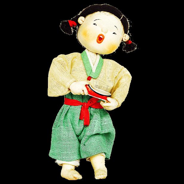 Korean Culture Dolls messages sticker-0