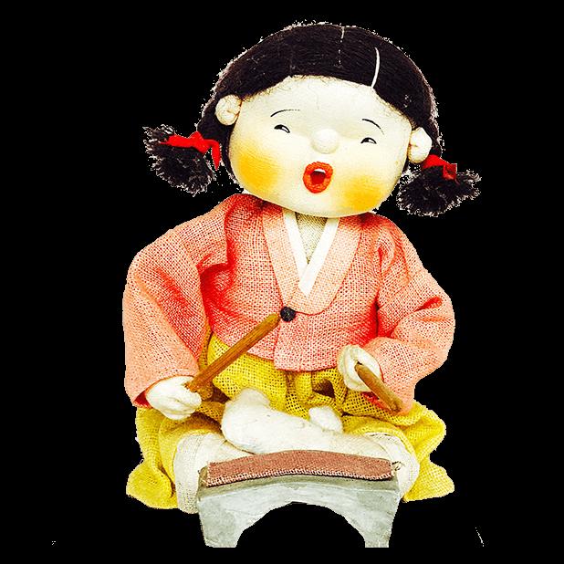 Korean Culture Dolls messages sticker-2