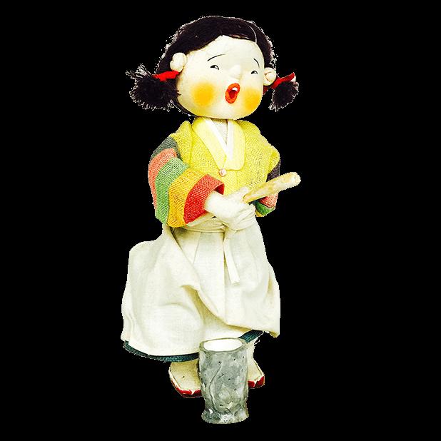 Korean Culture Dolls messages sticker-6