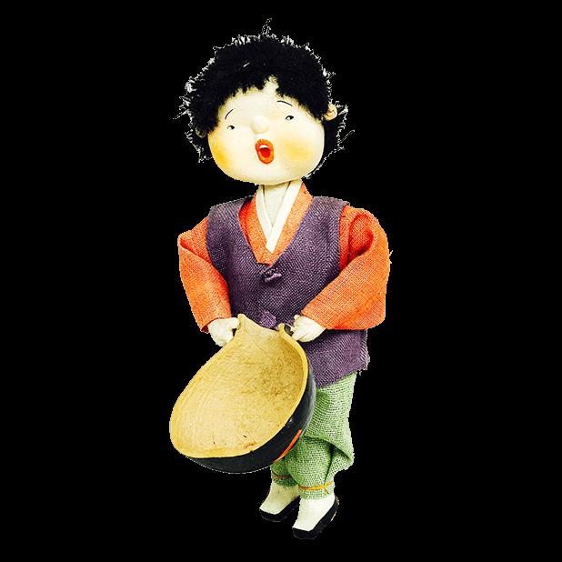 Korean Culture Dolls messages sticker-9
