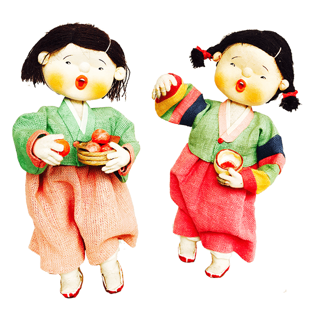 Korean Culture Dolls messages sticker-7
