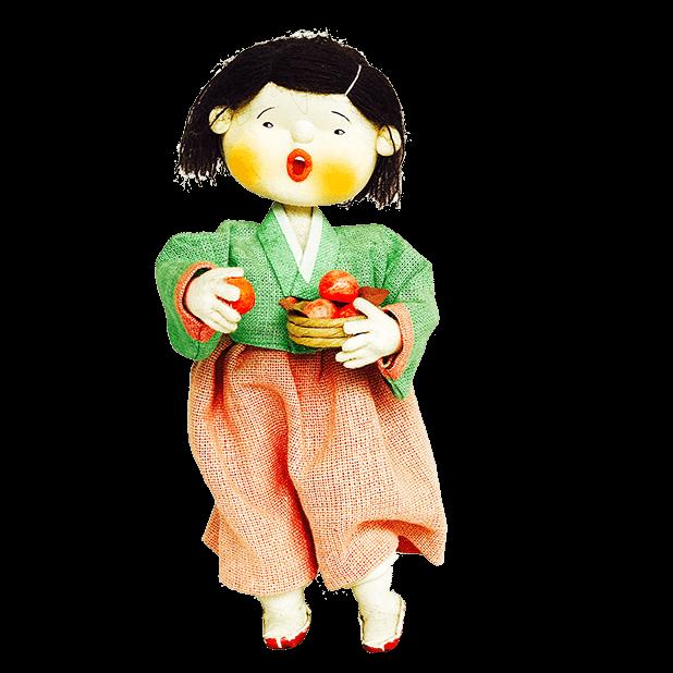 Korean Culture Dolls messages sticker-10