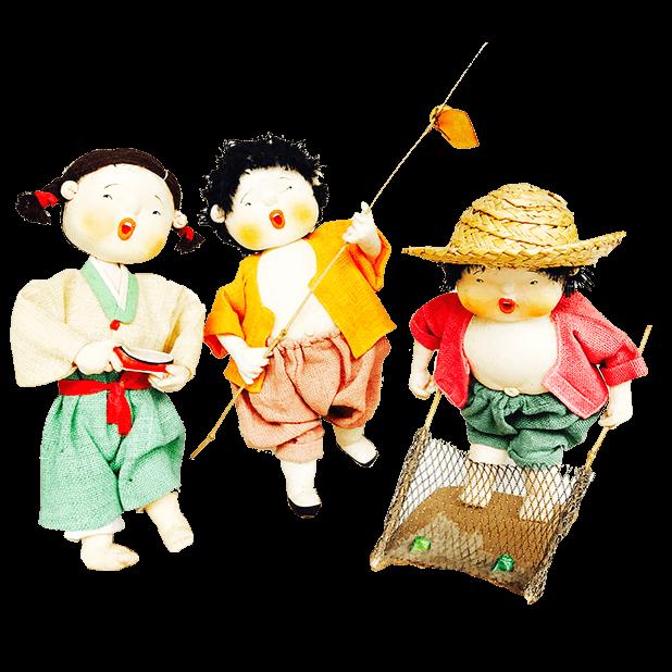 Korean Culture Dolls messages sticker-8