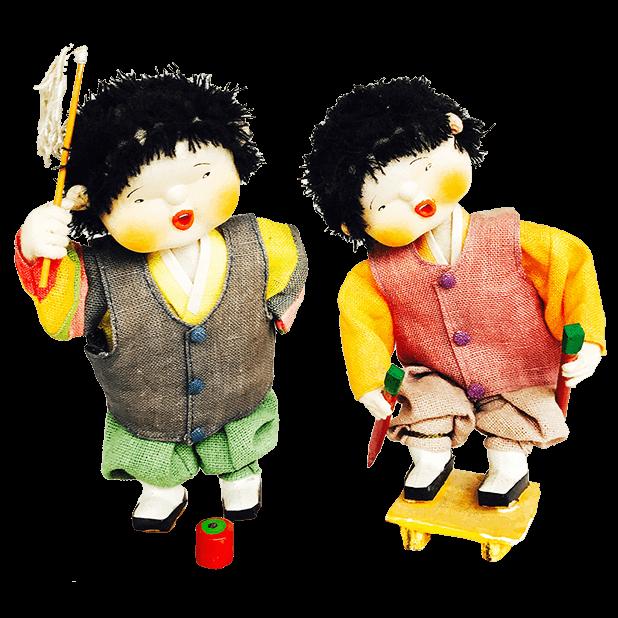 Korean Culture Dolls messages sticker-11