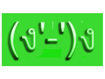 Neon Retro Emoji messages sticker-11