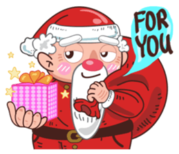 Merry ChristMas & Happy New Year Stickers messages sticker-2