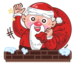 Merry ChristMas & Happy New Year Stickers messages sticker-4
