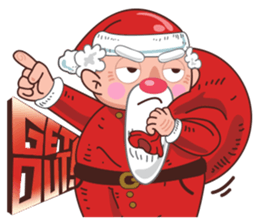 Merry ChristMas & Happy New Year Stickers messages sticker-11