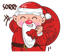 Merry ChristMas & Happy New Year Stickers messages sticker-5